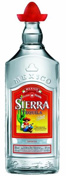 Sierra Tequila Silver 1 Liter mit Gläser