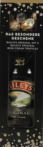 Baileys 0,7 l mit Schokoladen Trüffel