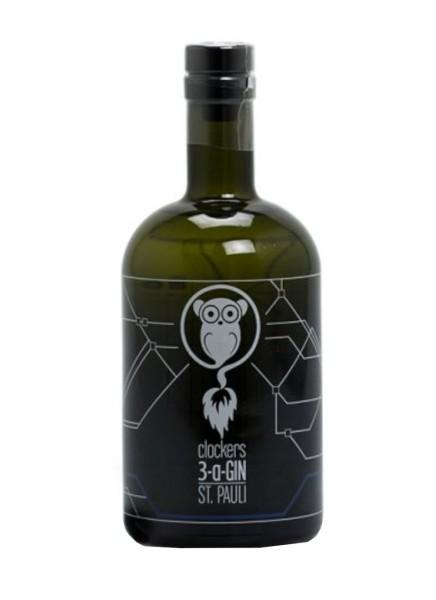 Clockers Gin 3-A 0,5 Liter