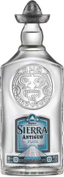 Sierra Tequila Antiguo Plata 100% Agave