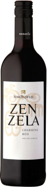 Simonsvlei Zenzela Charming Red 0,75 l