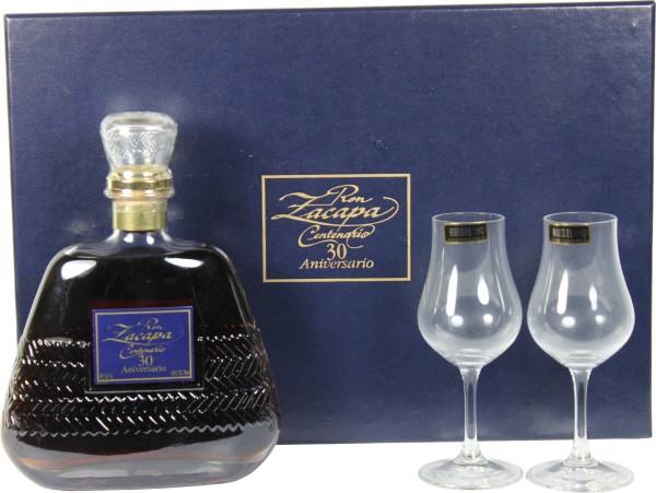 Ron Zacapa Rum 30 Aniversario Riedel Set 0,7l