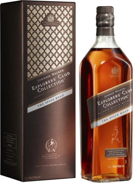Johnnie Walker Explorers Club Collection The Spice Road + GB 1 l