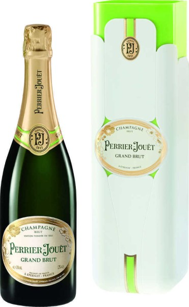 Perrier Jouet Grand Brut in Bloom Fresh Box
