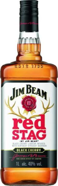 Jim Beam Red Stag Black Cherry Bourbon 1 l