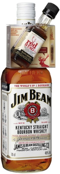 Jim Beam Red Stag Mini On-Pack