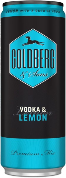 Goldberg & Vodka Bitter Lemon Dose 0,33l