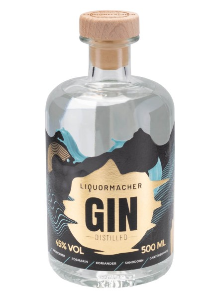 LiquorMacher Distilled Gin 0,5 Liter