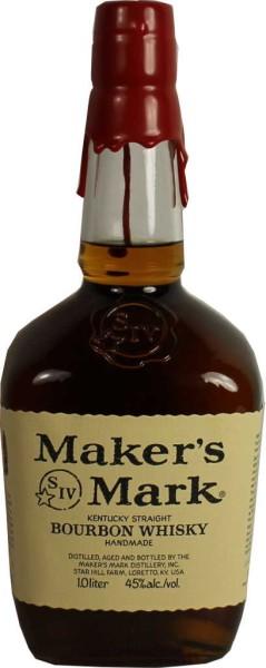 Makers Mark Bourbon Whisky 1l