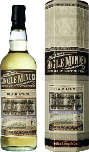 Single Minded Whisky Blair Athol 11 Jahre
