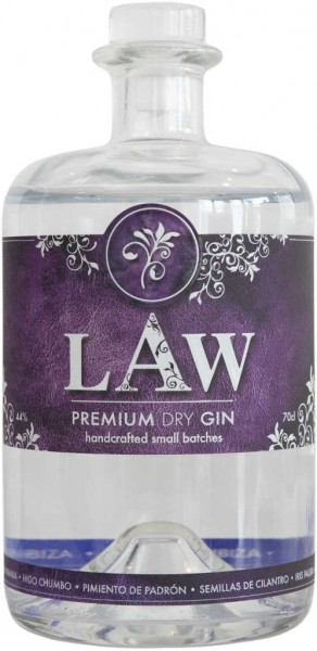 LAW Dry Gin 0,7l