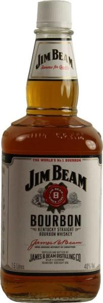 Jim Beam Whiskey White Label 1,5l