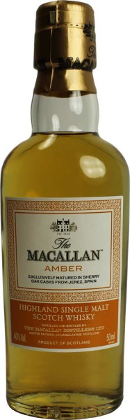 The Macallan Whisky Amber Miniatur 5cl