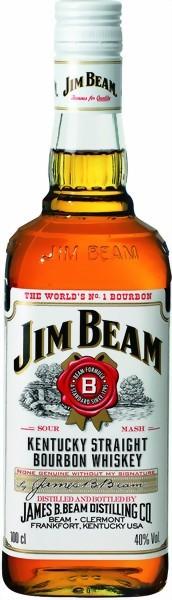 Jim Beam White Label Bourbon 1 Liter