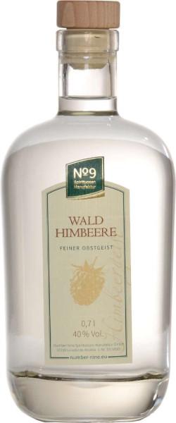 Number Nine Obstbrand Waldhimbeere 0,7l