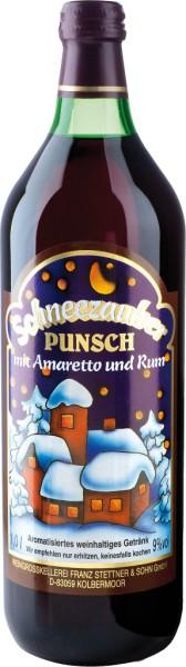 Schneezauber Punsch mit Amaretto und Rum 1l