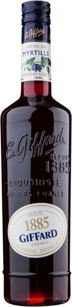 Giffard Creme Myrtille (Heidelbeerlikör) 16% 0,7 l
