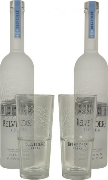 Belvedere Gläser Set