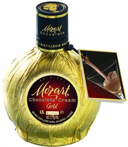 Mozart Chocolate Cream Liqueur Gold 0,5 l