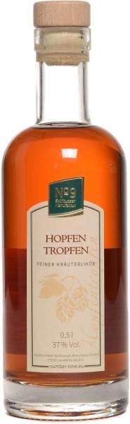 Number Nine Hopfentropfen Kräuterlikör 0,5l