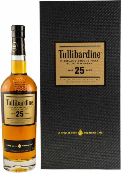 Tullibardine Whisky 25 Jahre 0,7 Liter