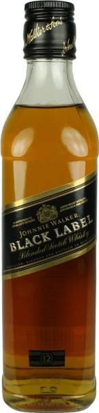 Johnnie Walker Whisky Black Label 0,35l