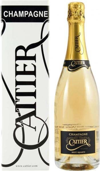Cattier Champagner Brut Quartz 0,75 l