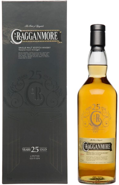 Cragganmore Whisky 25 Jahre Special Release 2014 0,7l