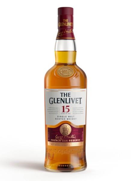 The Glenlivet Whisky 15 Jahre 0,7l
