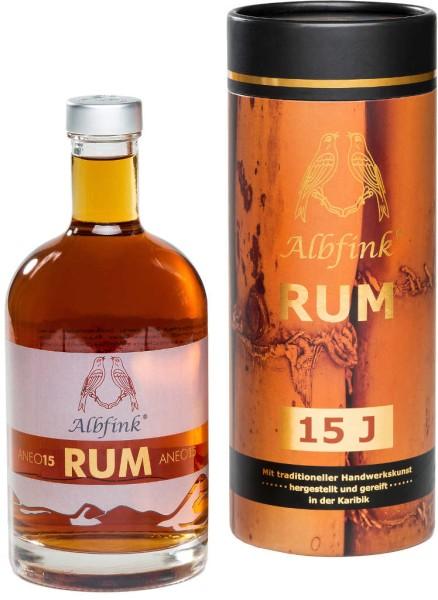 Albfink Rum Anejo 15 Jahre 0,5 l