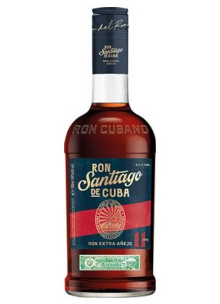 Santiago de Cuba Rum Extra Anejo 11 Jahre 0,7 Liter