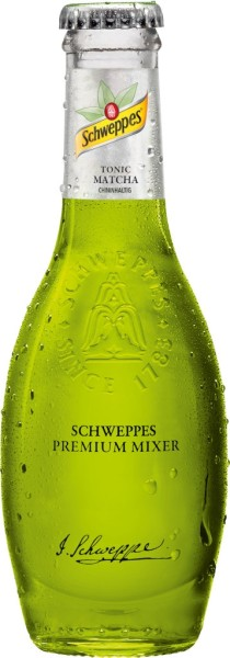Schweppes Premium Mixer Matcha 0,2 Liter