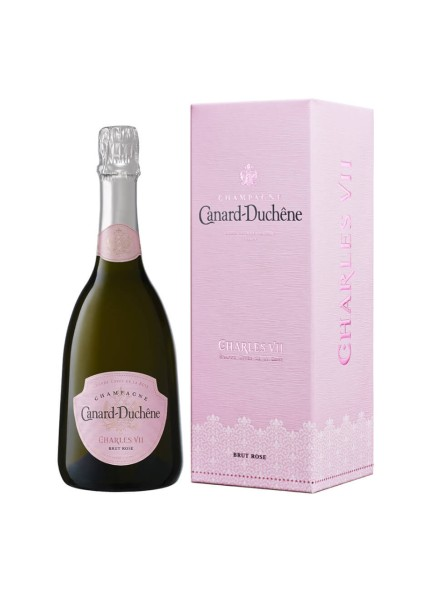 Canard-Duchêne Champagner Grande Cuvée Charles VII Rosé 0,75 Liter in Geschenkpackung