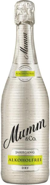 Mumm Jahrgangssekt 2019 Dry Alkoholfrei 0,75l
