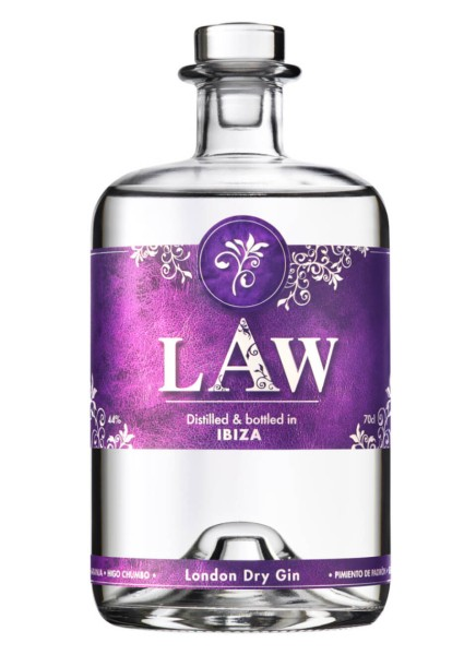 LAW The Gin of Ibiza 0,7 Liter