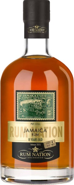 Rum Nation Jamaica 8 Jahre Oloroso-Finish 0,7 l