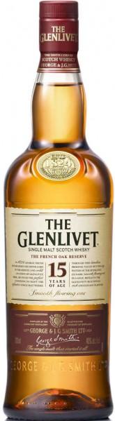 Glenlivet 15 Jahre Single Malt Scotch Whisky