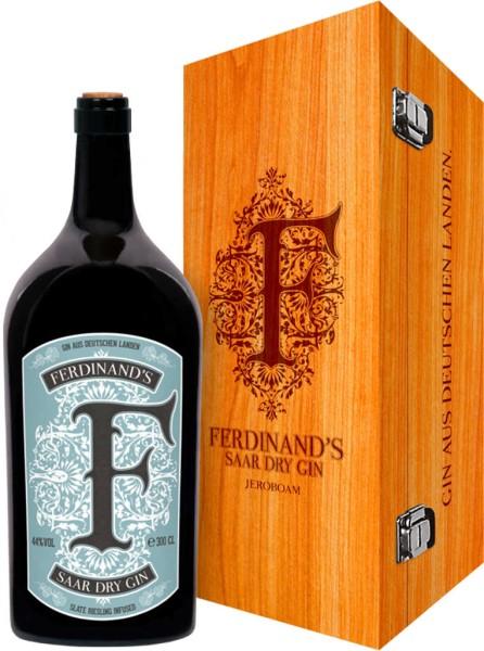 Ferdinands Saar Dry Gin 3l in Holzkiste